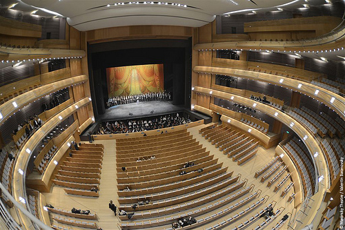 L'auditorium du Mariinsky IIPhoto: Mariinsky/Valentin Baranovsky