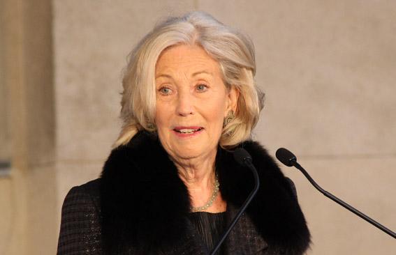 Lady Soilti bei ihrer Ansprache Photo: Remy Franck