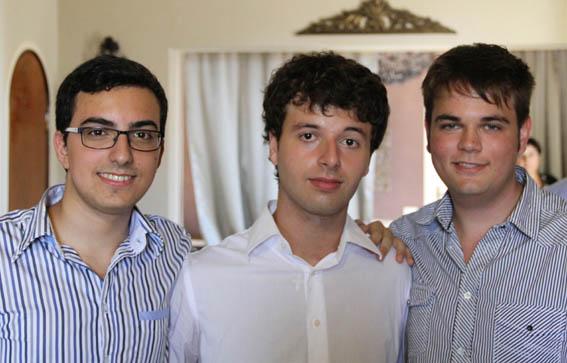 Alberto Ferro, Alfio Scuderi, Gaetano Vaccarella Photo: ICMA