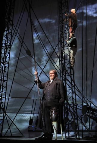 Captain Ahab (Jay Hunter Morris)  Photo Cory Weaver SF Opera
