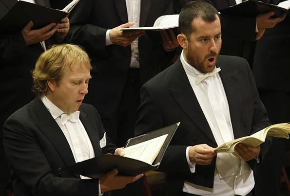 Marcus Schäfer (l.) & Johannes Weisser  © Bruno Fidrych