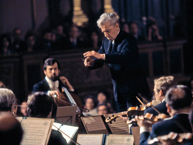 Karajan - Wiener Philharmoniker (c) Deutsche Grammophon - Unitel