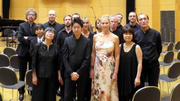 Lucilin with Toshio Hosokawa, Kentaro Kawase and Charlotte Hellekant