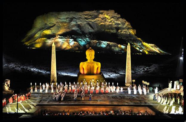 Archivbild von der Aida-Aufführung (c) Yossi Zwecker